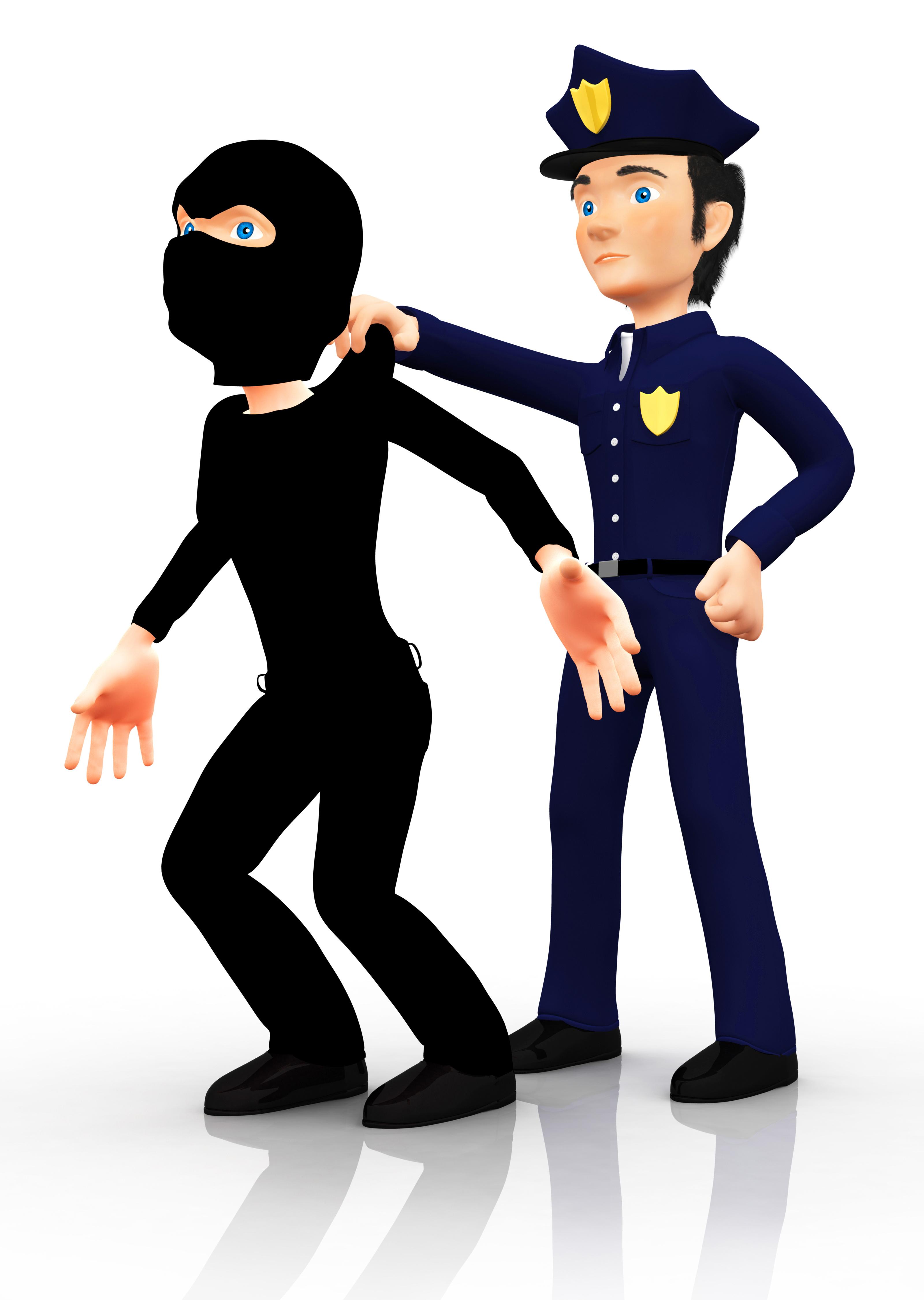 police arrest cartoon quotes