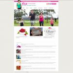 Wordpress website design for Lisa in my Pocket