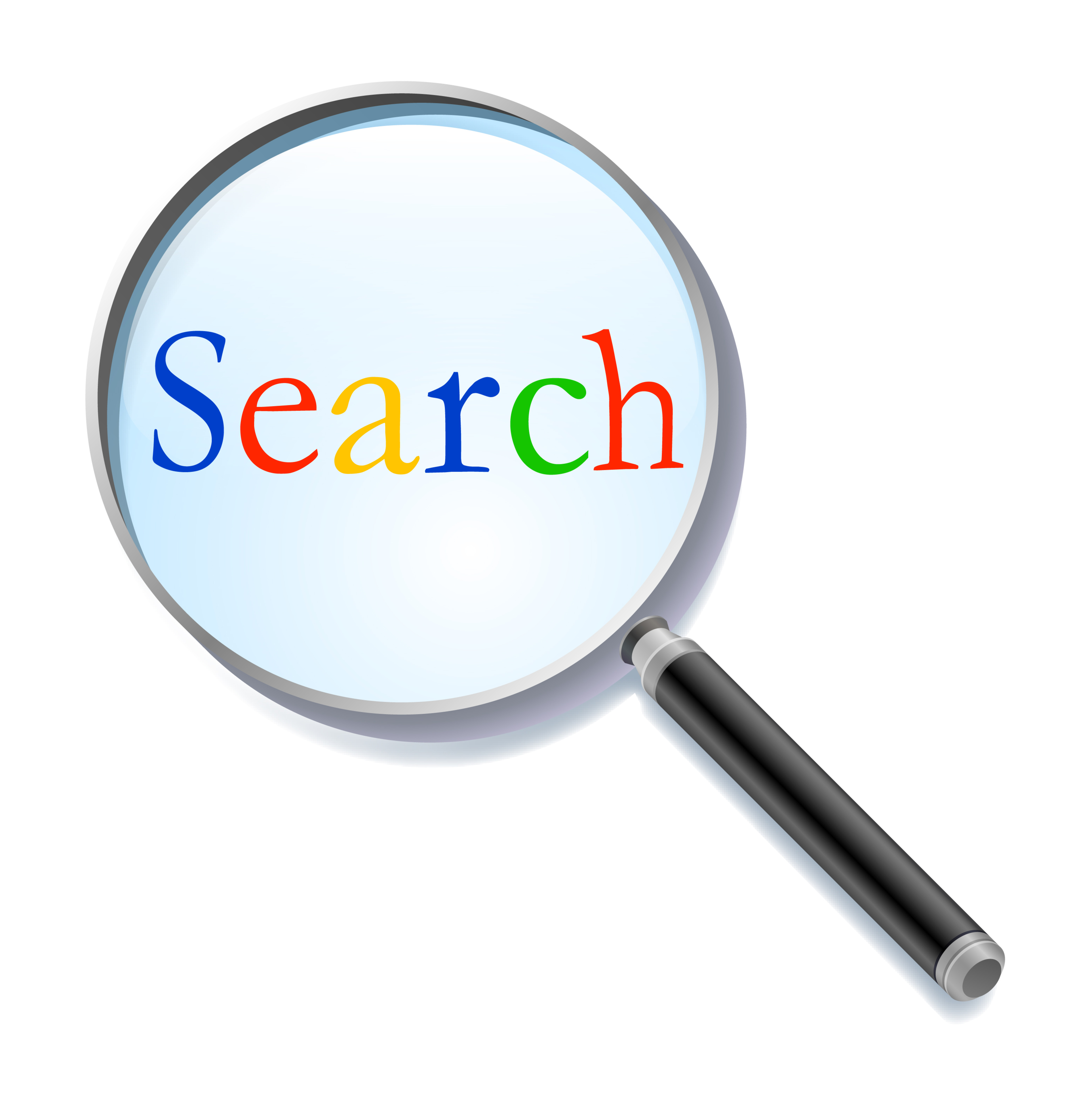 SEO Magnifying Glass - Search